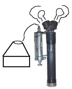 Hipwell patent 1853271 1853272 Speed Flash Gun