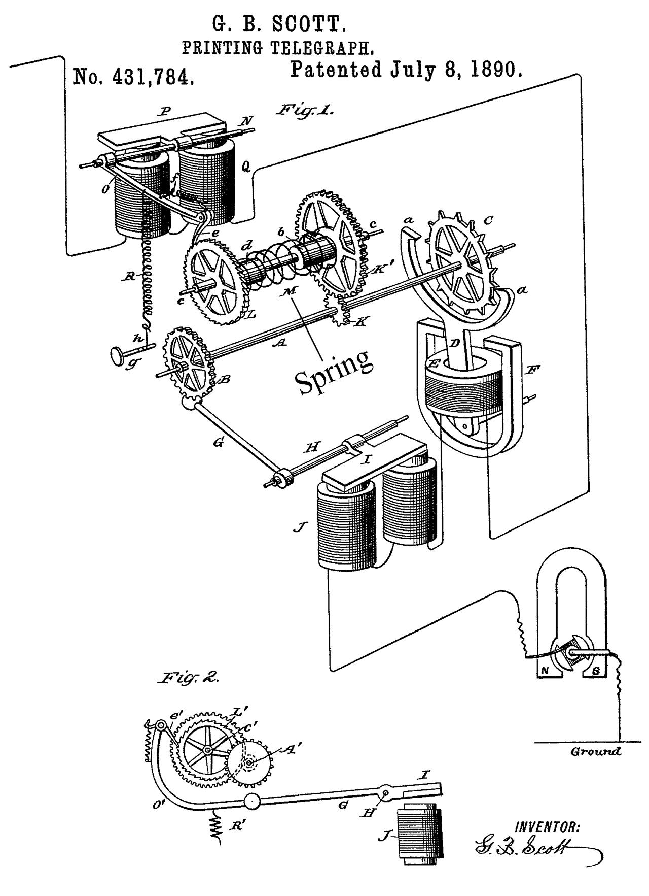 Stock Ticker Patents