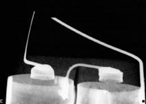 X-Ray of Eveready No. 70 Pocket Flash Light Battery