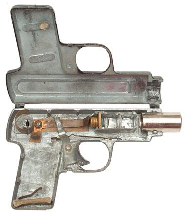 Auto-Magic Pistol 16 mm film strip projector