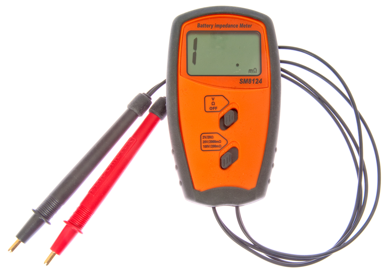 Esr Meter For Batteries : Battery testers