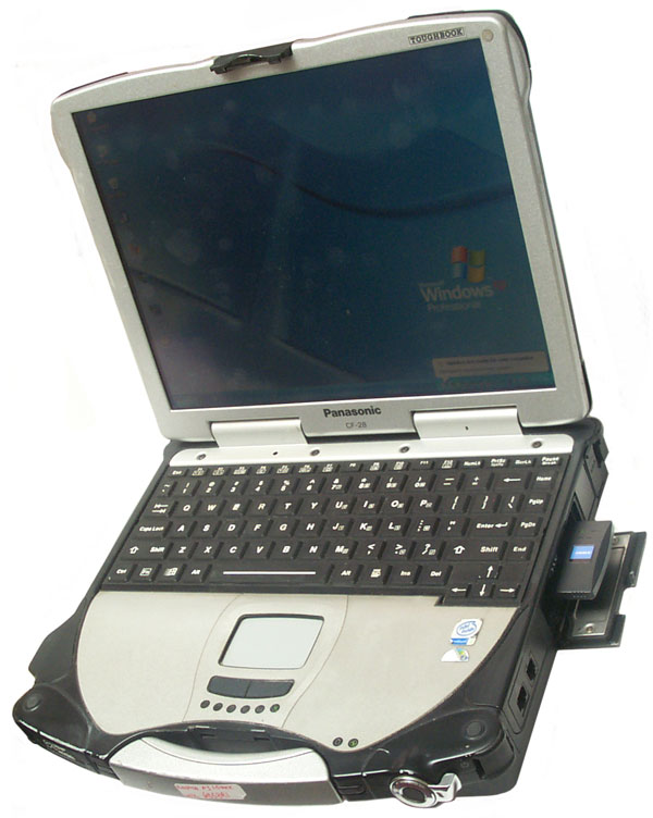 Panasonic Cf 28 Toughbook Laptop Computer