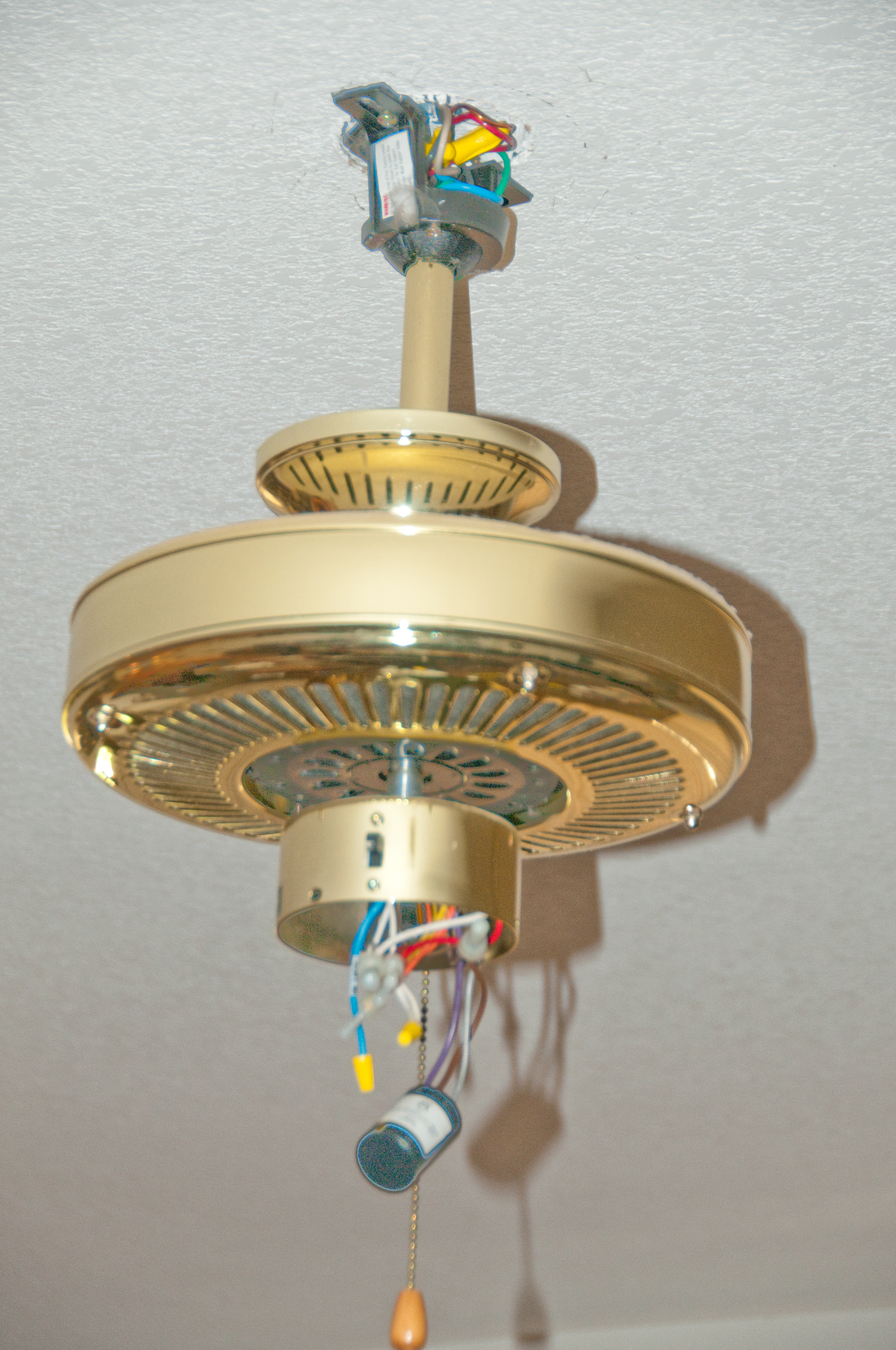 Engine Ceiling Fan : Ceiling fan wiring red black white ground free