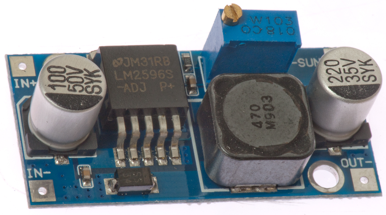 Military Test Equipment Components Blog Oscilloscope Testing Module Huntron Circuit Dsn2596 Based On Lm2596