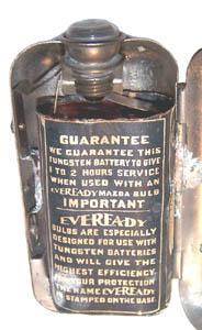 Eveready Pocket Flashlight with No. 750 Battery