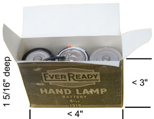 Ever Ready 1215 Hand Lamp Battery