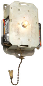Eveready No. 4758 3-cell Wallite with Timer-Switch