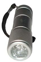 9 LED 3AAA Flashlight