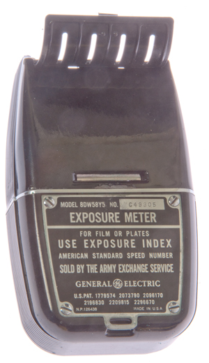 GE Exposure meter model 8DW58Y