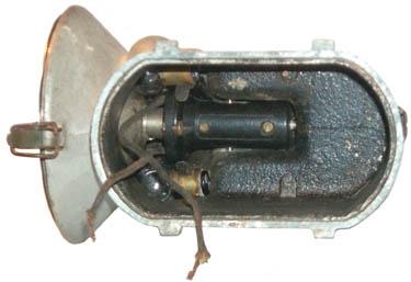 Grether Fire Lantern Switch & Spare Lamp Storage