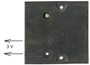 Grether Fire Lantern Battery Plate Wire Side
