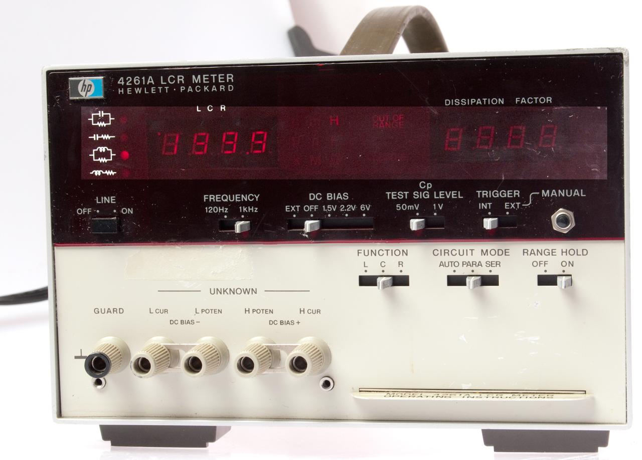 Hp Lcr Meter : Hp a lcr meter