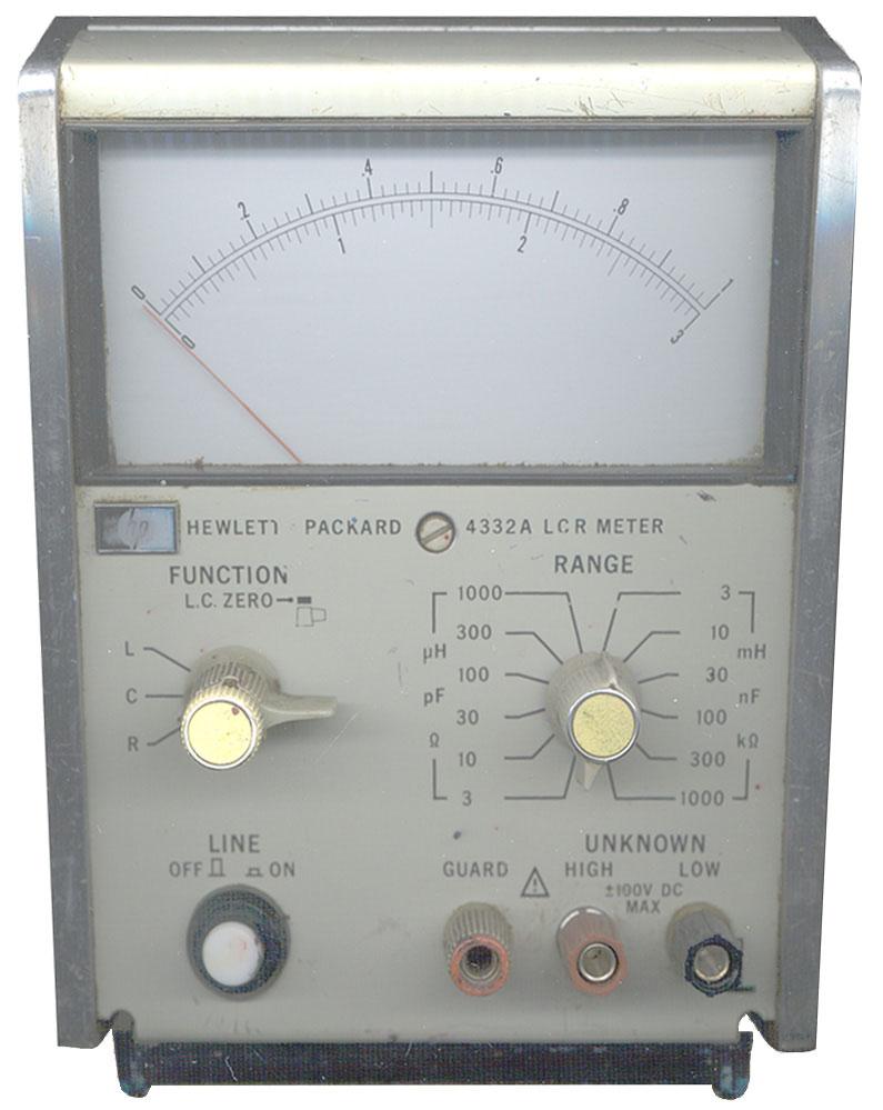 Using An Lcr Meter : Hp lcr meter