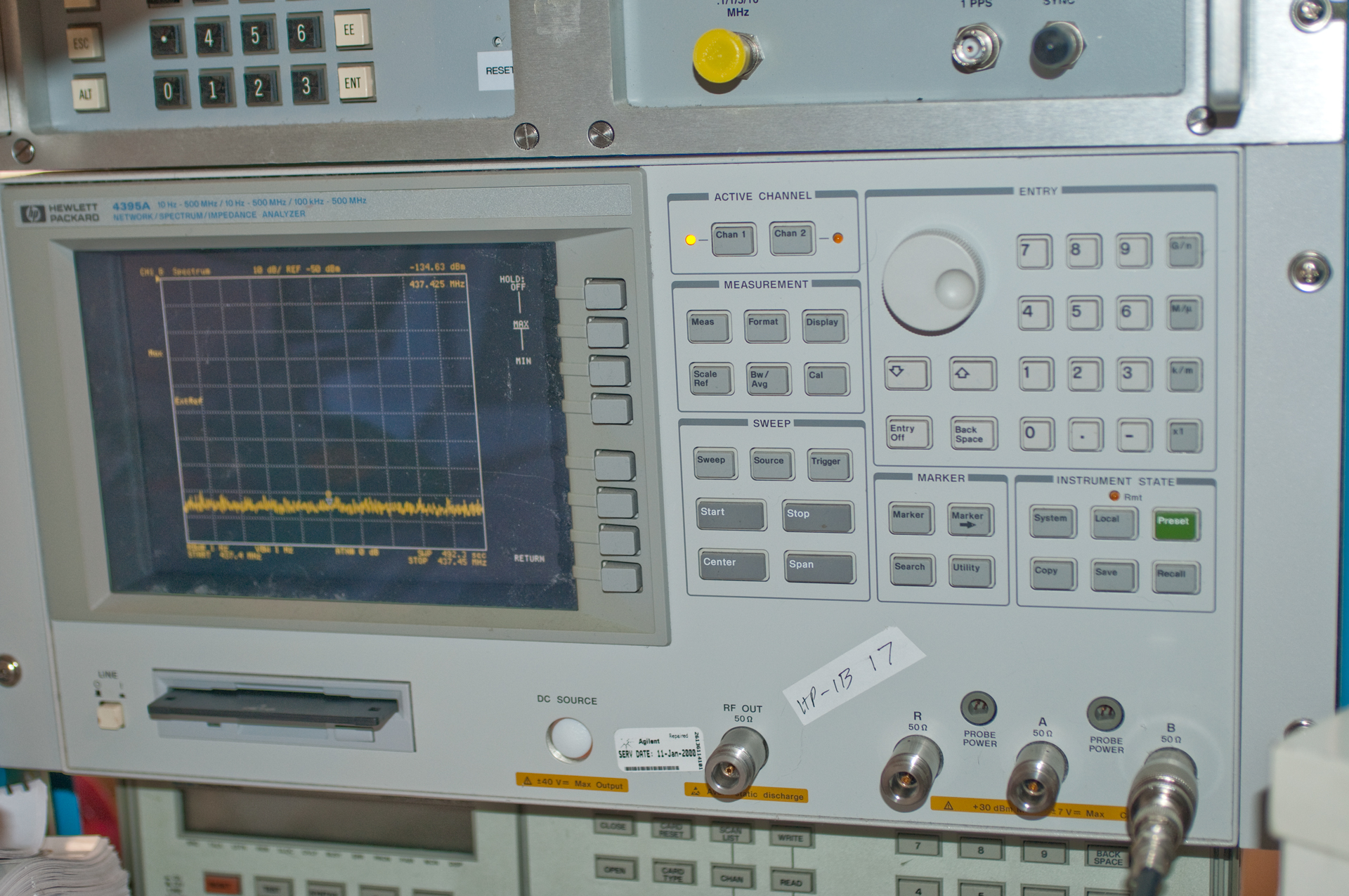 Electrical Network Analyzer : Agilent a
