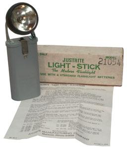 Justrite Light-Stick Flashlight No. 21054