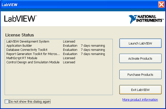 installer mathscript dans la programmation labview