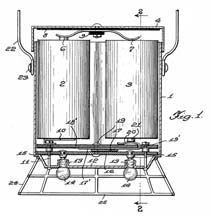 Light Weight Lantern patent drawing front