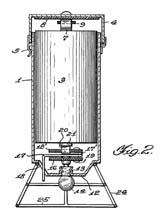 Light Weight Lantern Co patent dwg Side