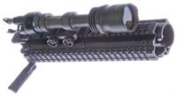 Surefire M961XM07 Mounted in FN FAL Rail