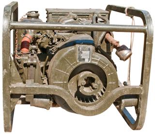 MEP-25A 28VDC Military Generator
