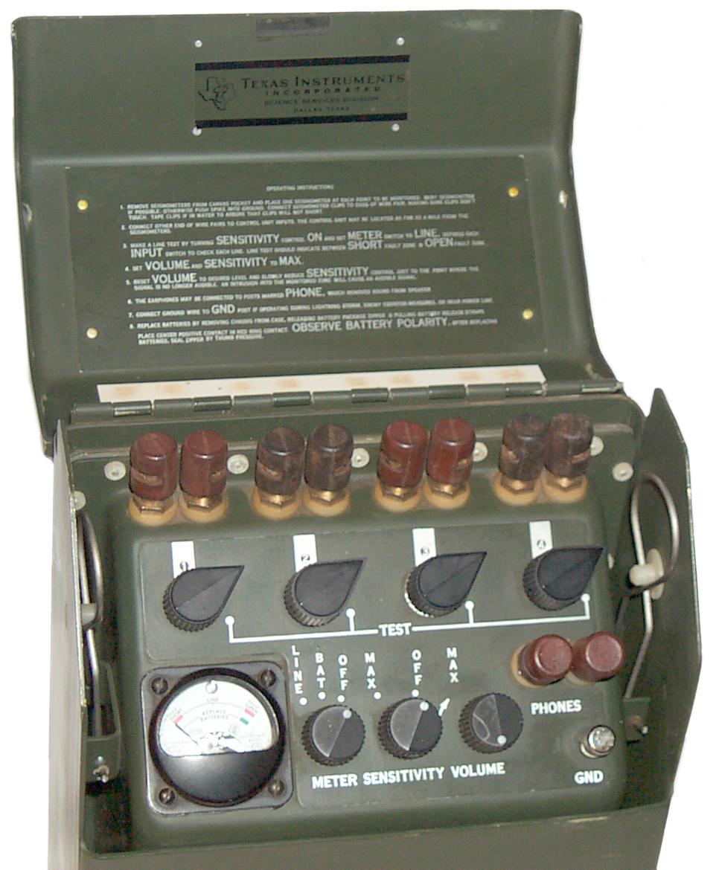 Psr 1 Seismic Intrusion Detector Vibration Sensor