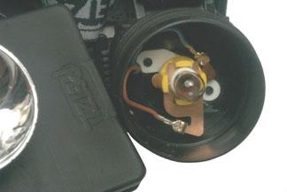 Petzl Head Lamp Switch