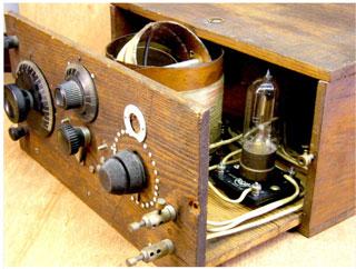 one tube radio. Black Bedroom Furniture Sets. Home Design Ideas