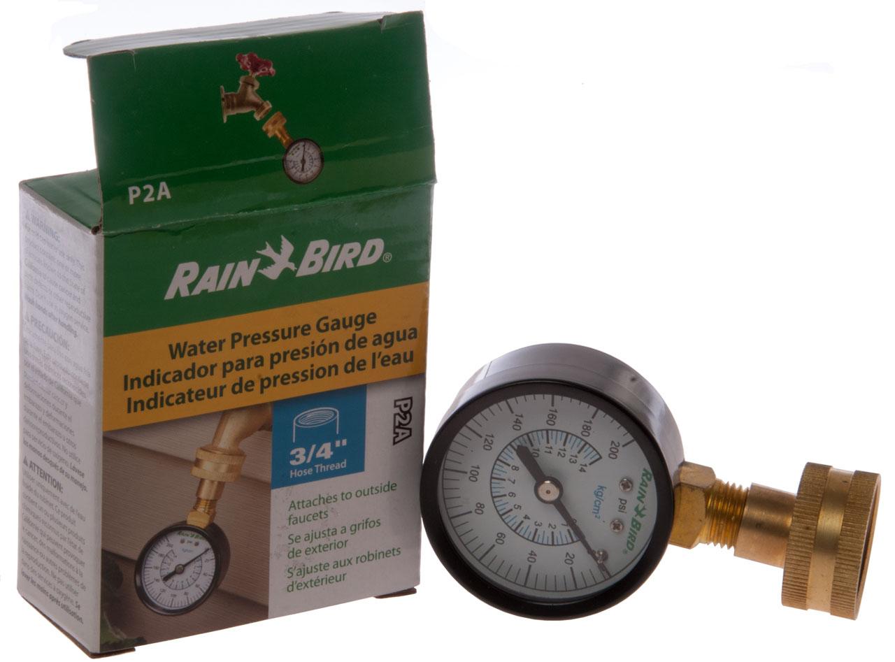 Rain Bird P2A Pressure Gauge P2-A