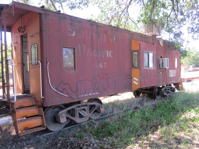 Southern California Electric >> Southern Pacific Caboose No. 1345