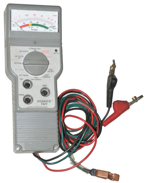 tempo sidekick t n telephone line tester rh prc68 com Tempo Sidekick Plus User Manual Tempo Sidekick Plus User Manual