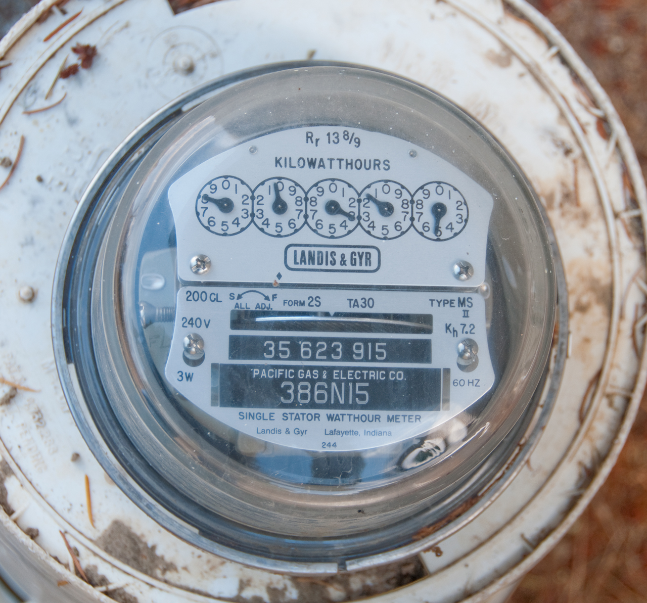 Analog Electric Meter : Smart utility meters