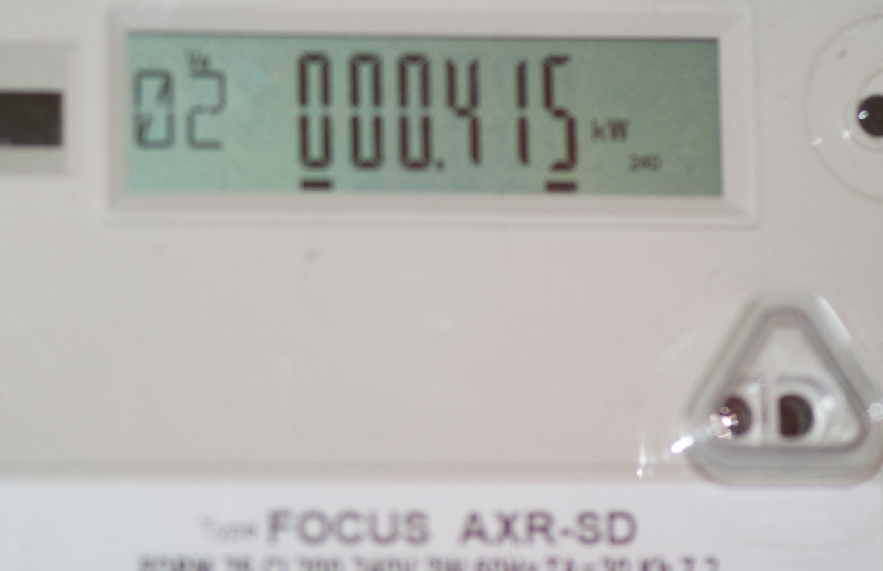 how to read electric meter philippines