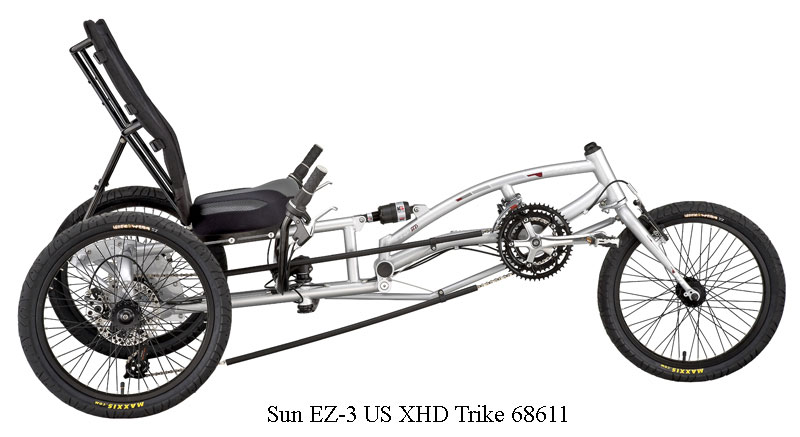 3 Wheel Bikes EZ USX HD Trike