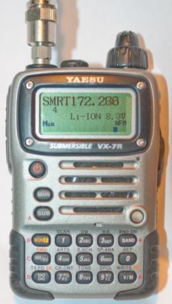 Yaesu vx 7r