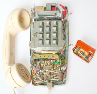 Western    Electric    2554    Wall    Phone