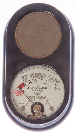 Weston 703 Sight Light Meter exposure