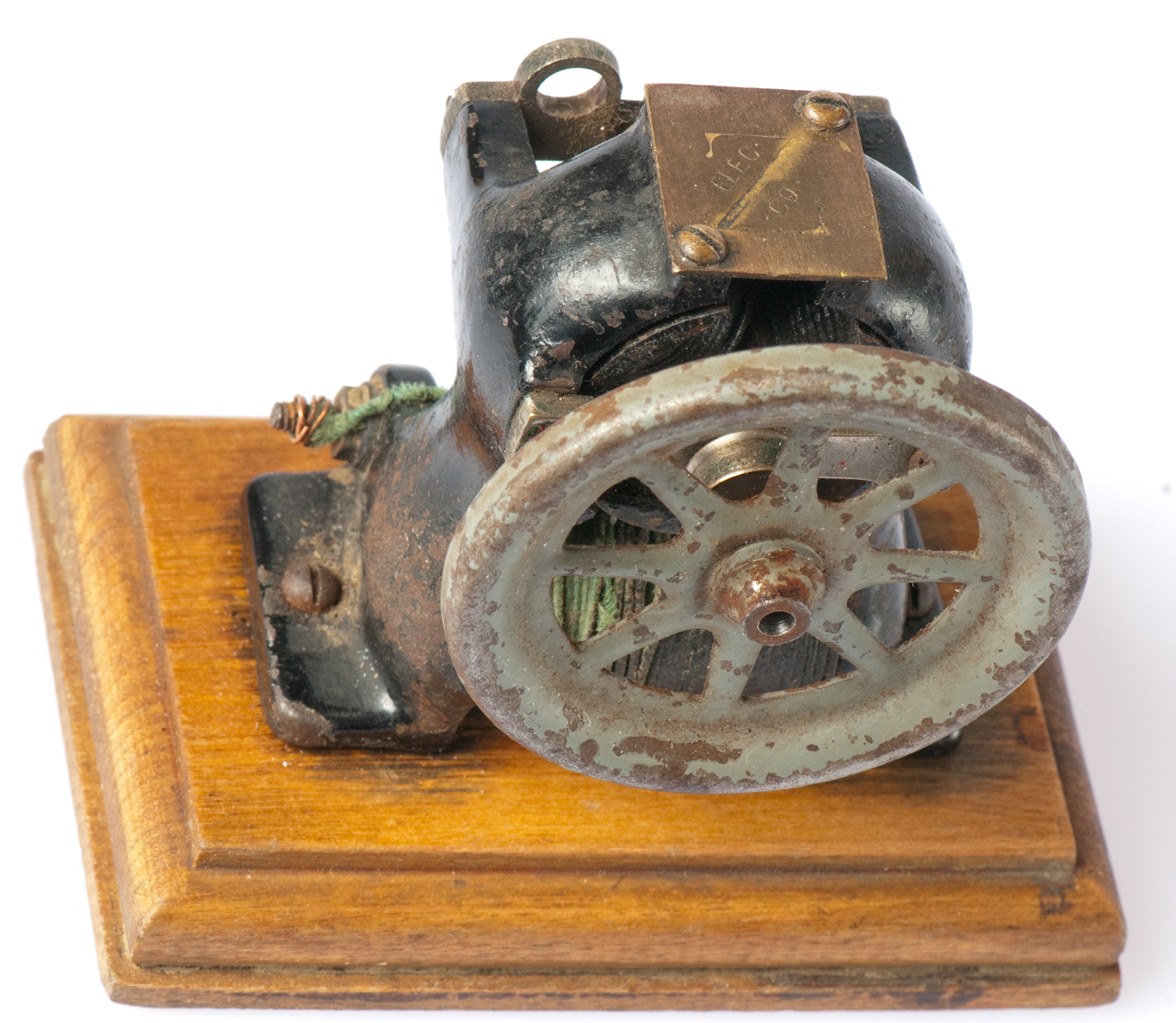 first electric motor. Simple Motor Z Electric Co DC Motor  And First T