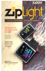 Zippo ZipLight Package Front