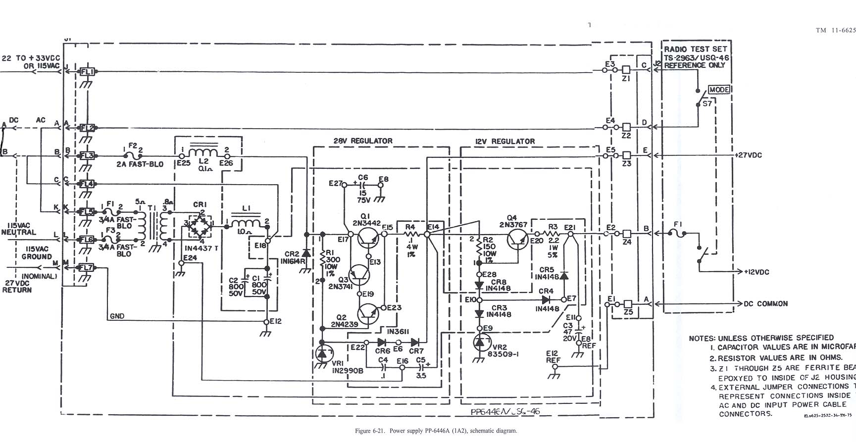 115 Vac Plug Schematic Example Electrical Wiring Diagram Usq Radio Frequency Monitor Sets 20 Amp