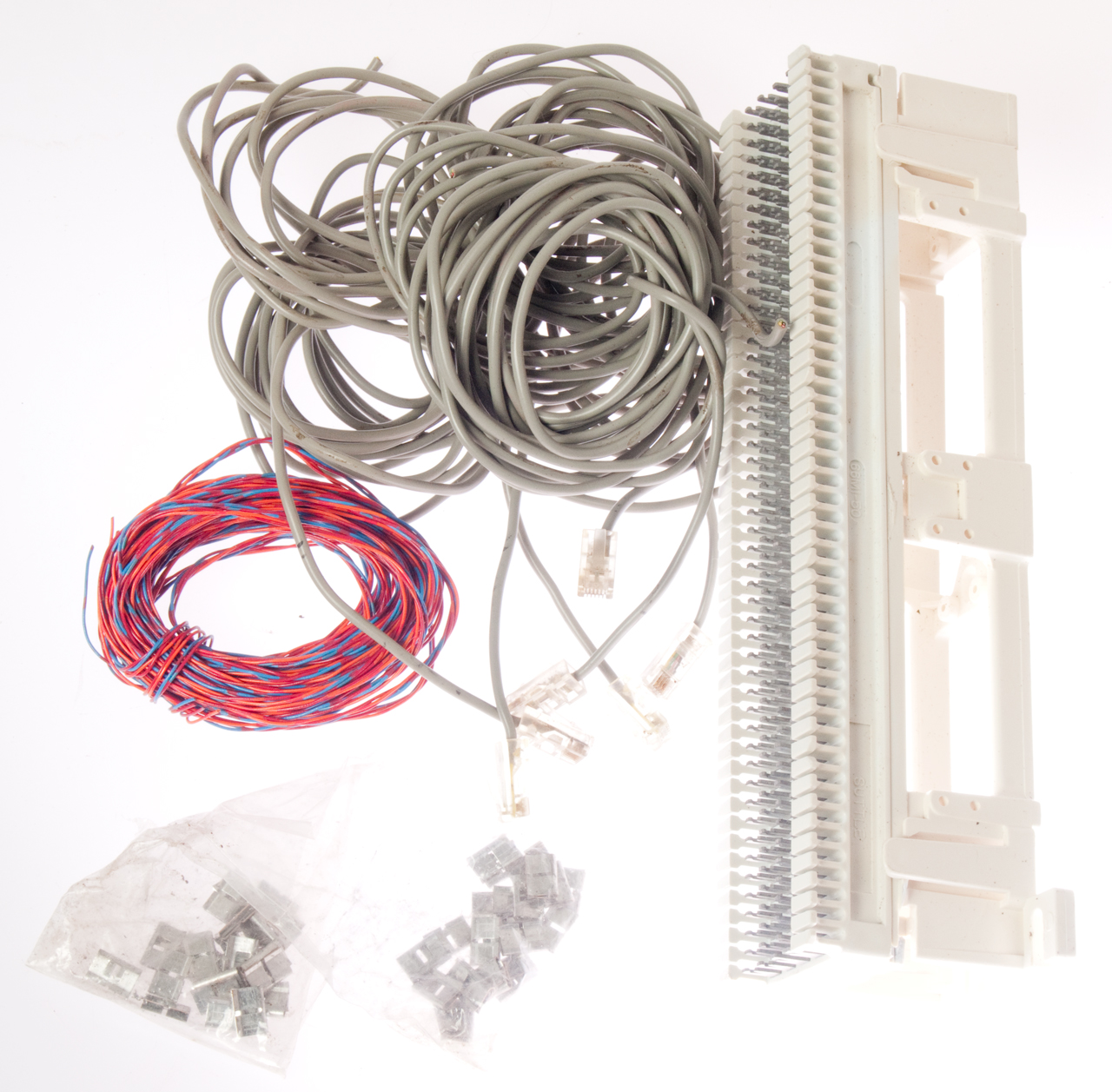 Panasonic Kx Ta824 Telephone System Down Block Besides Rj45 Wiring Diagram On Cat5 Home 66m1 50 Punch 89 Bracket And Related Parts 6 Each Solid Wire