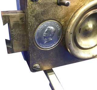 4 NEW 493 ORIGINAL KEYS  AMERICAN STANDARD HIGH SECURITY LOCKS VENDING MACHINES