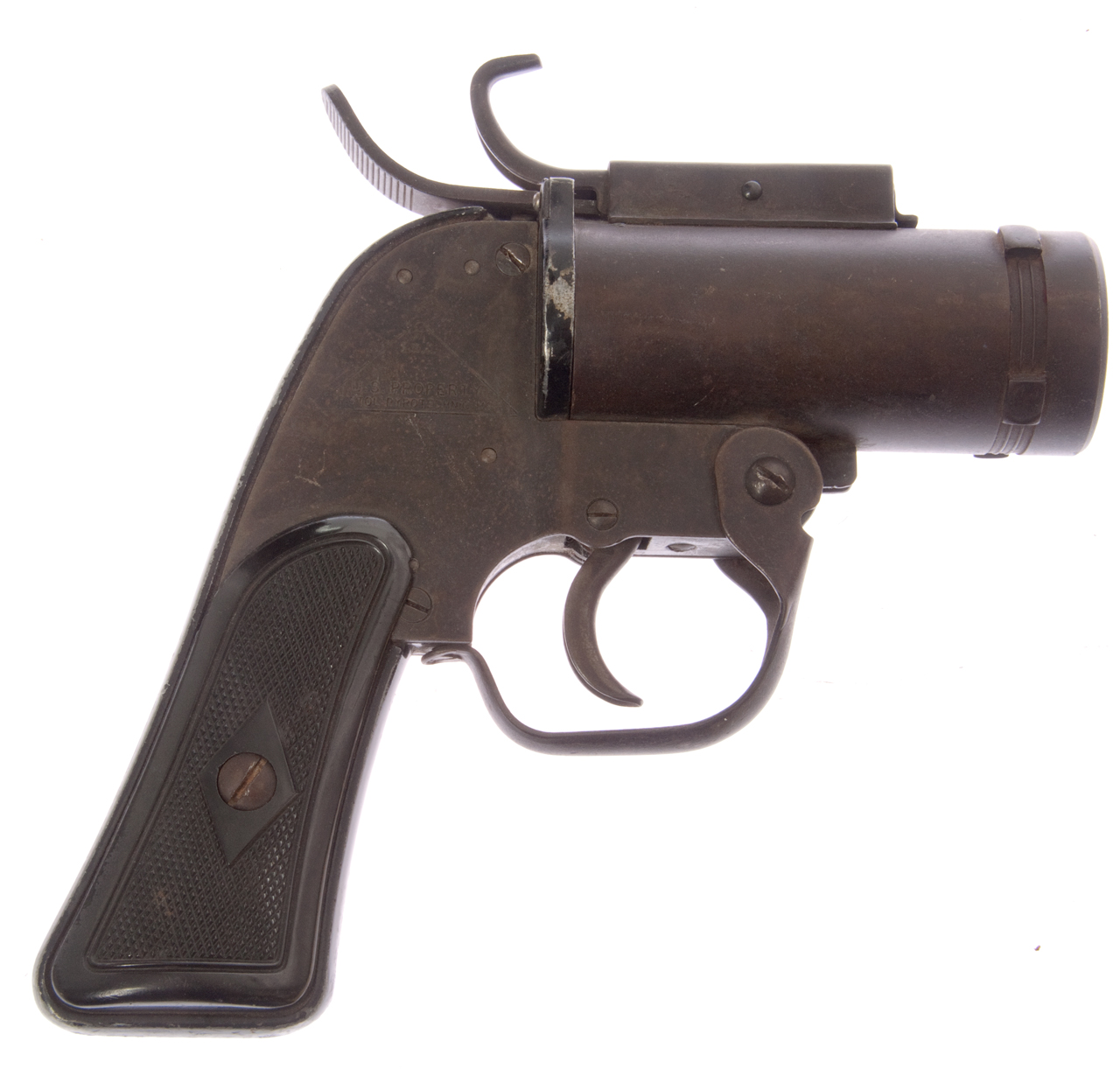 An M8 Pyrotechnic Flare Pistol