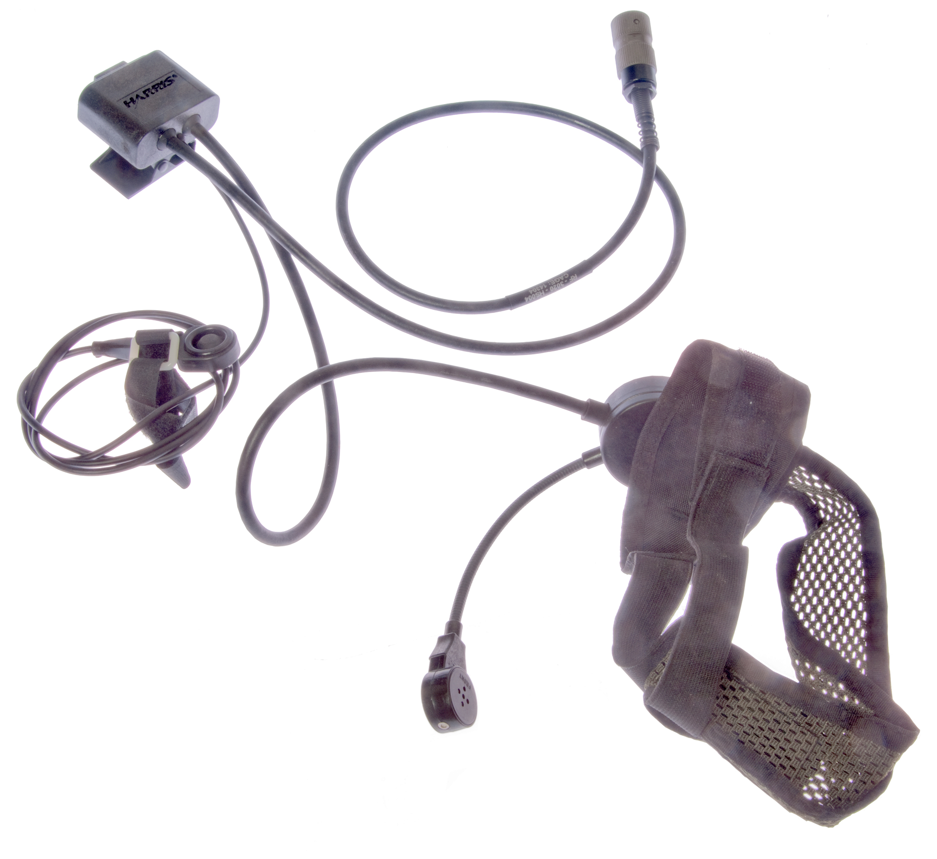 Military Audio Accessories Otto Headset Wiring Diagram Harris Rf 3020 Hs004 Remote Ptt
