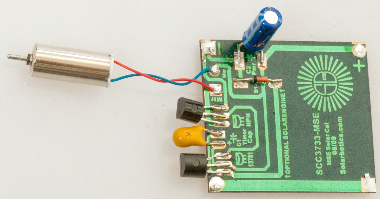 Joule Thief Single Cell Led Driver Circuit Or The Drivers Themselves Here Is Its From Silicon Solarbotics Miller Solar