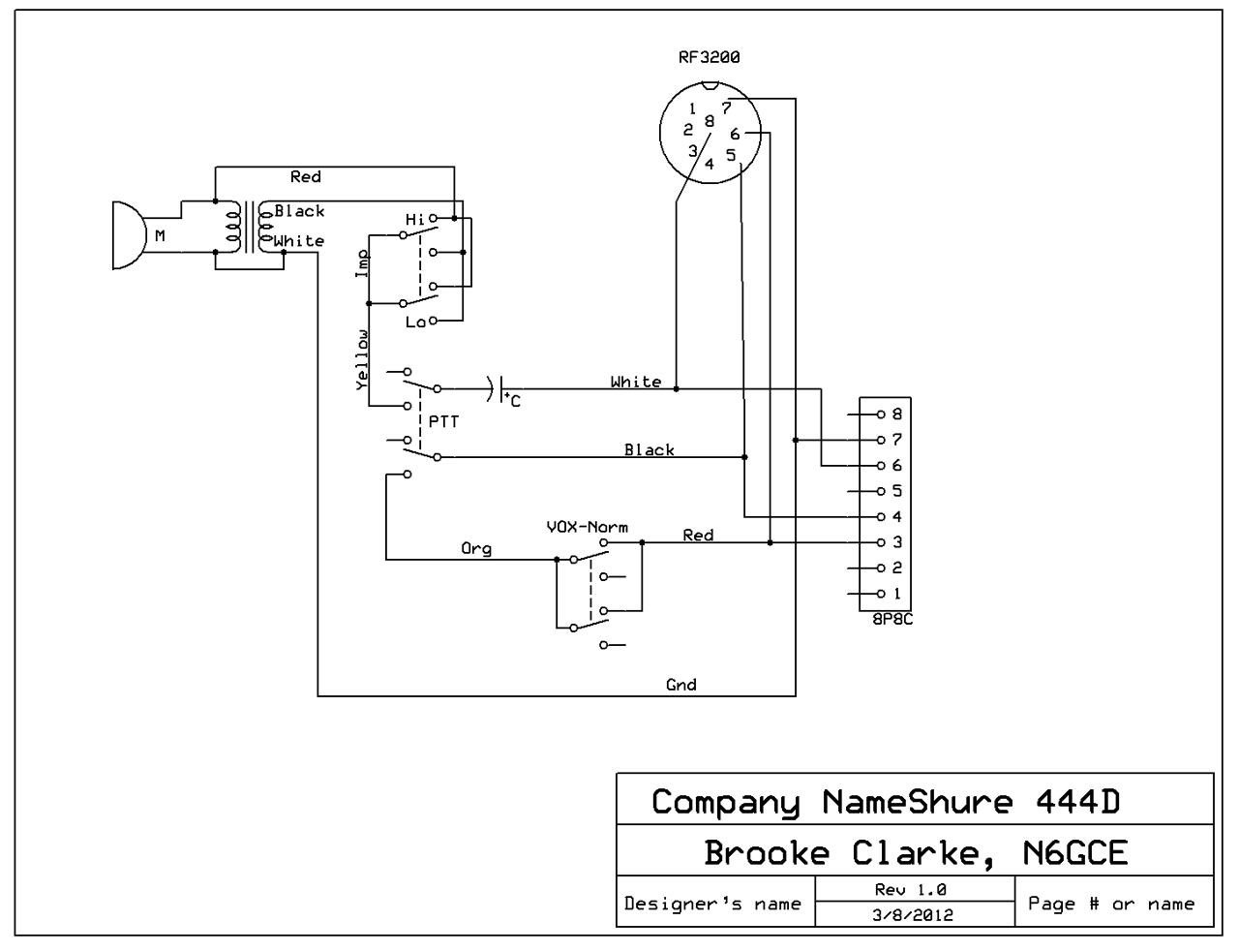 Wiring Diagram For Microphone Another Blog About Headphones With 3 Wire Diagrams Get Free Image Condenser Cb