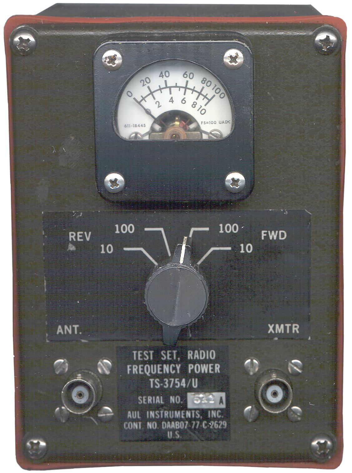 Urm U Vhf Low Band Power Meter