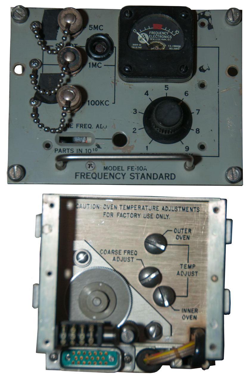 AN/URQ-10 AN/URQ-23 Frequency Standards