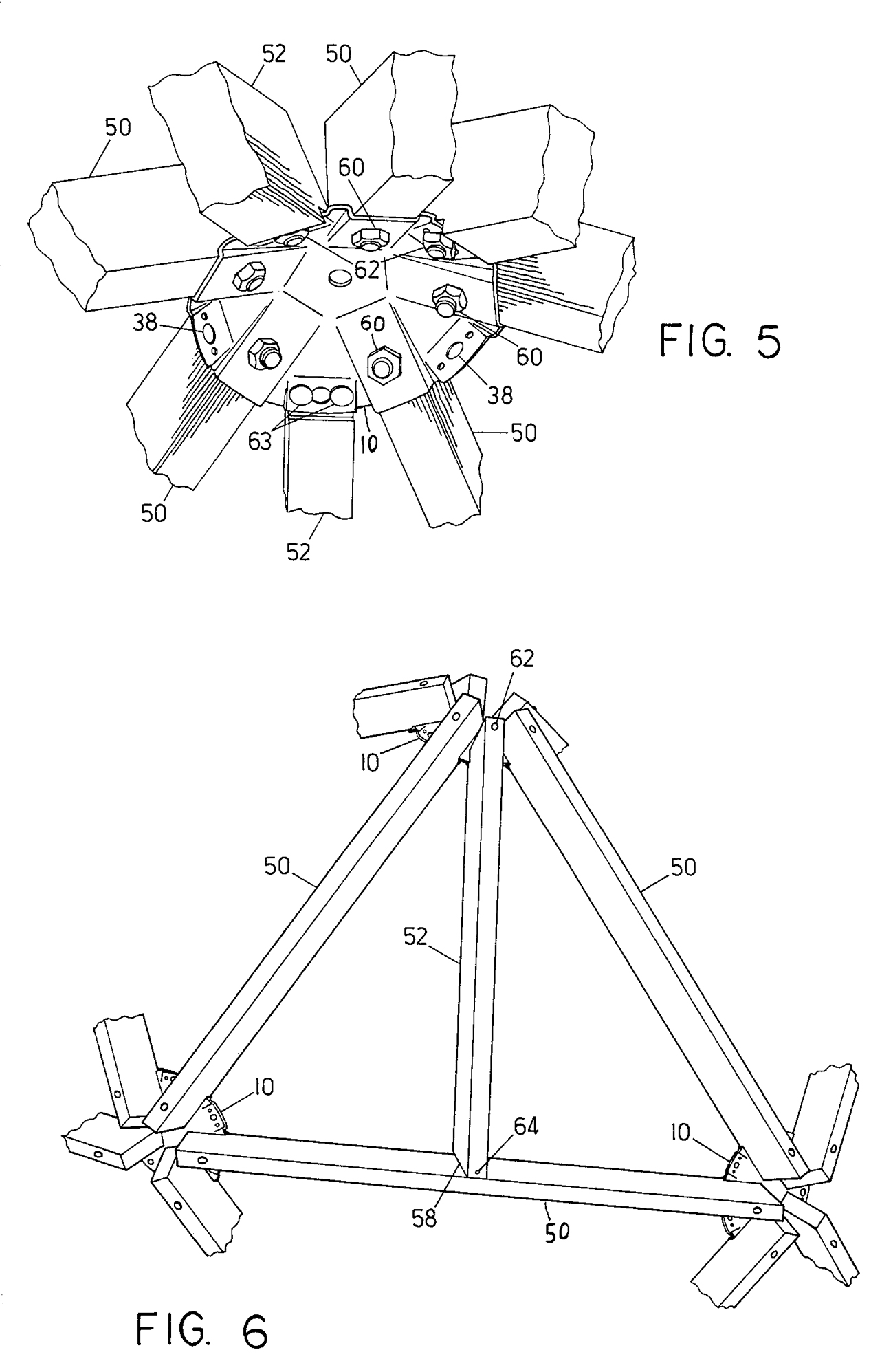 Geodesic Dome Connector Plates