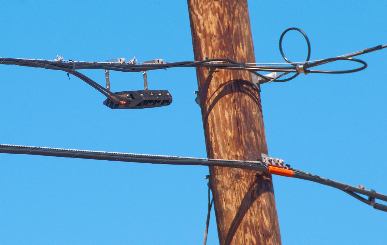 Telephone Power & CATV Poles on